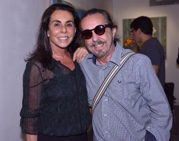 Vivi Abitbol e Marcelo Borges