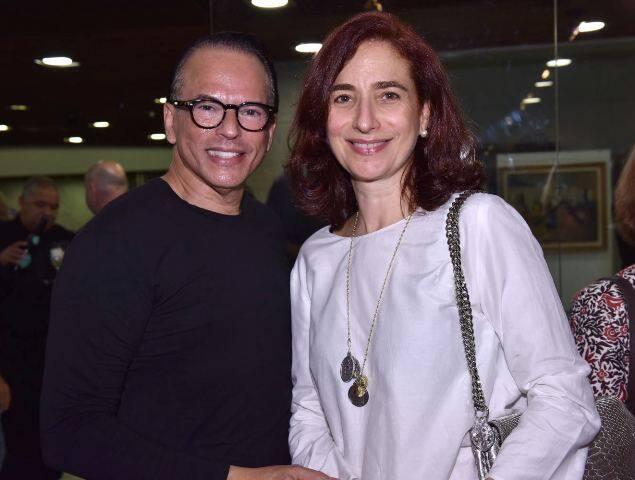 Heckel Verri e Anna Paula Protásio