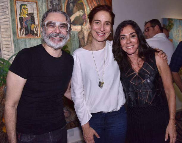 David Cury, Anna Paola Protásio e Ana Luiza Rego