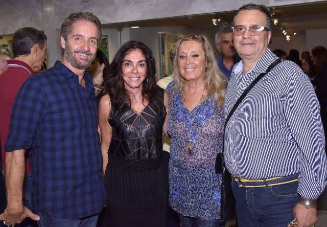 Pedro Guimarães, Ana Luiza Rego, Giovanna Deodato e José Ronaldo Müller