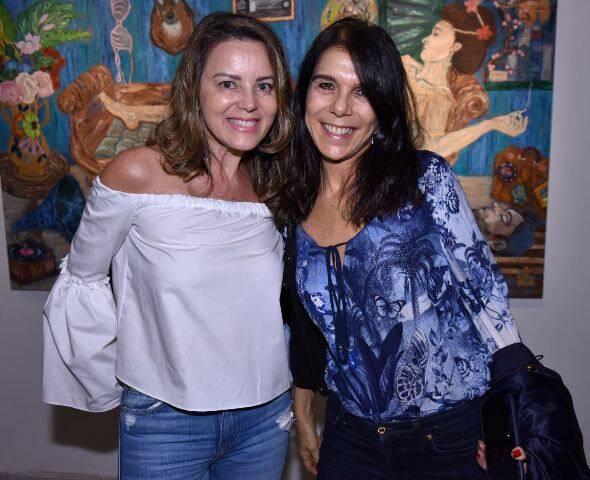 Shirley Maia e Bia Rique