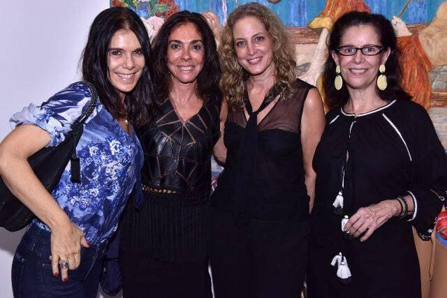 Bia Rique, Ana Luiza Rego, Simone Klabin e Fátima de Abreu Brizola