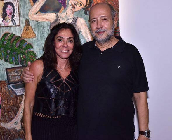 Ana Luiza Rego e Fernando Cochiarale