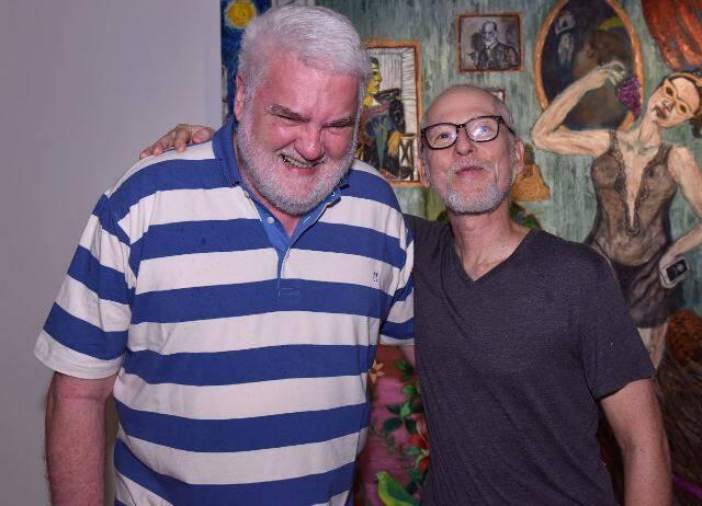 John Nicholson e Flávio Colker