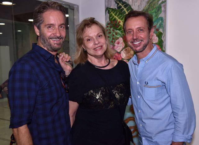 Pedro Guimarães, Laura Burnier e Nando Grabowsky