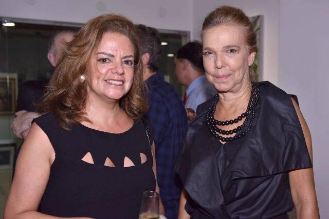 Roma Drummond e Cecília Mendes de Almeida