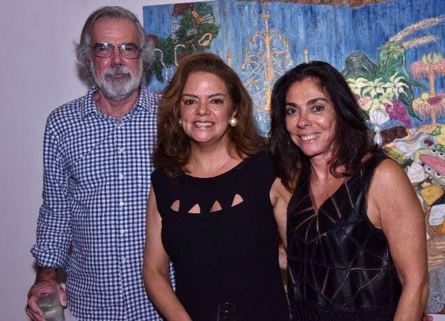Pedro Tebyri, Roma Drummond e Ana Luiza Rego