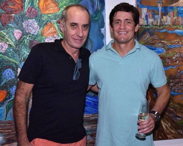 Ricardo Becker e Sérgio Rodegheri