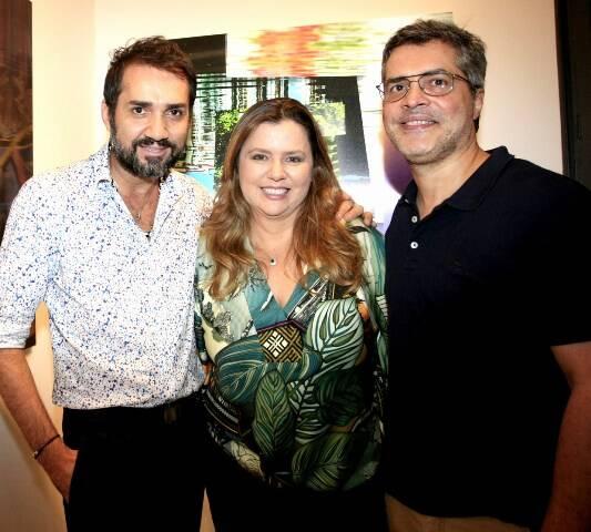 Beto Silva, Cassia Bomeny e Claudio Pinto