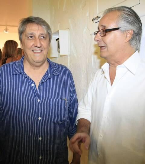 Waltercio Caldas e Everardo Miranda