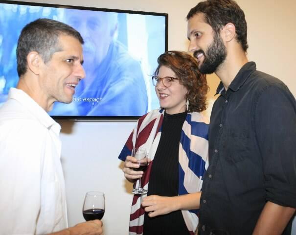 Cabelo, Ayeska e Rodrigo Bocater