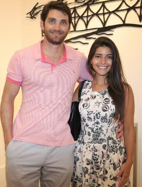 Vicente Domnici e Alana Ribeiro