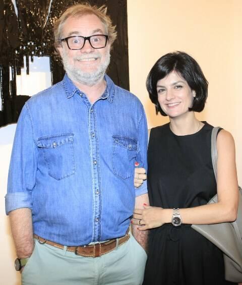 Raul Mourão e Isabel de Luca