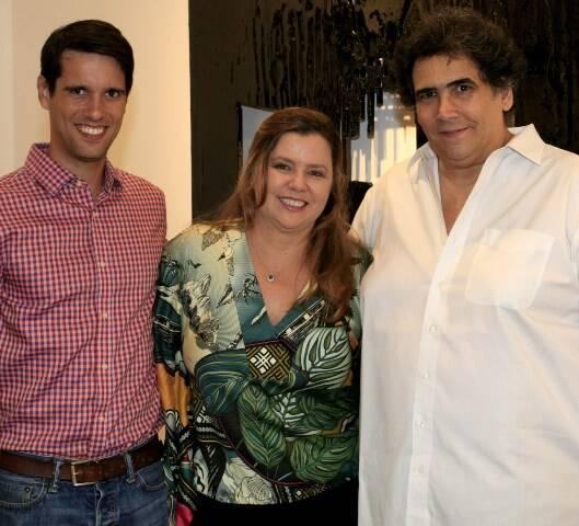 João Vergara, Cassia Bomeny e Antonio Neves da Rocha