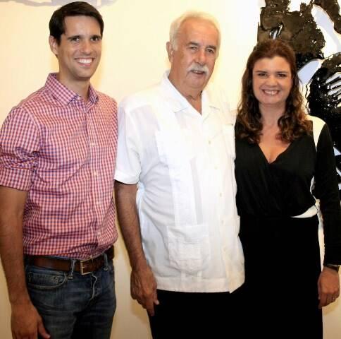 João, Carlos e Inês Vergara