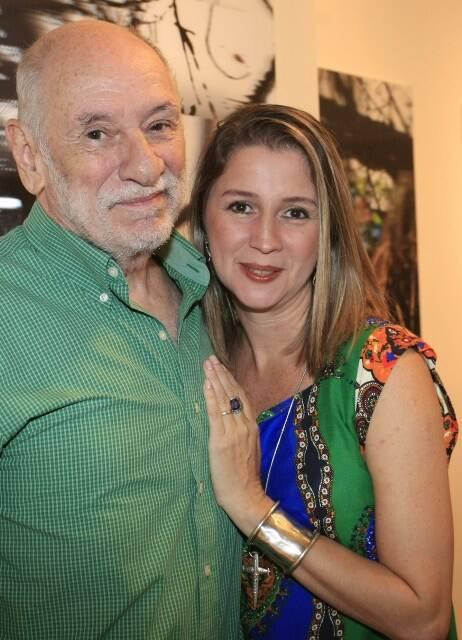 Luiz Alberto Py e Vivian Py