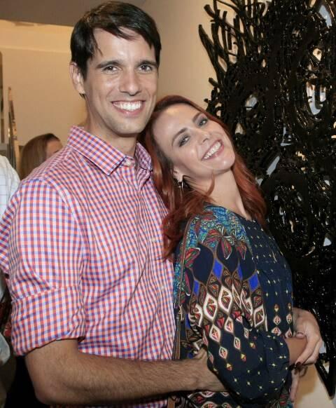 João Vergara e Juliana Silveira