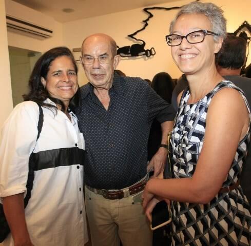 Beatriz Vergara, Antonio Dias e Paula Chieregato