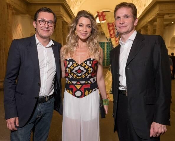 Brice Roquefeuil, Letícia Spiller e Jean-Paul Guihaumé