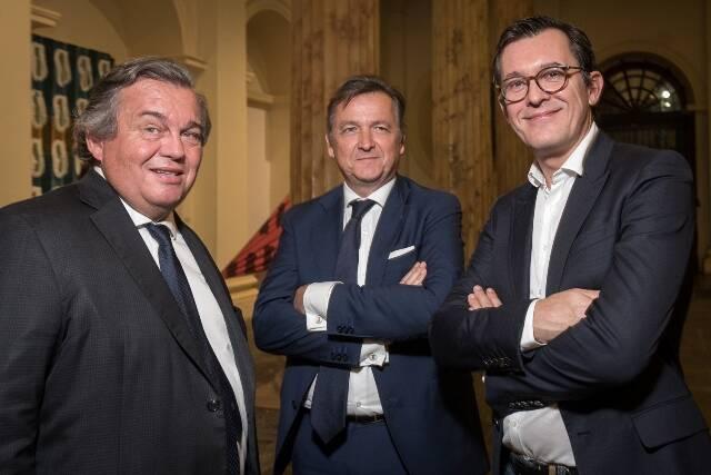 Olivier Ginn, Patrick Sabatier e Brice Roquefeuil