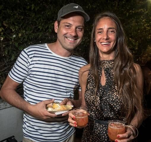 Olivier Faucher e Patricia Battafarano