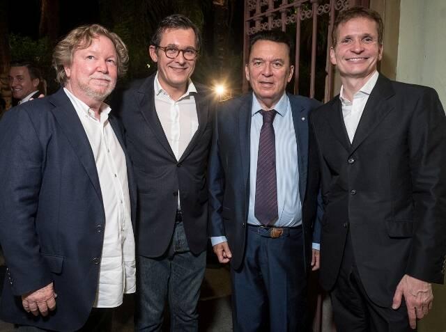 Paulo Jacobsen, Brice Roquefeuil, Pierre Guillermo e Jean-Paul Guihaumé