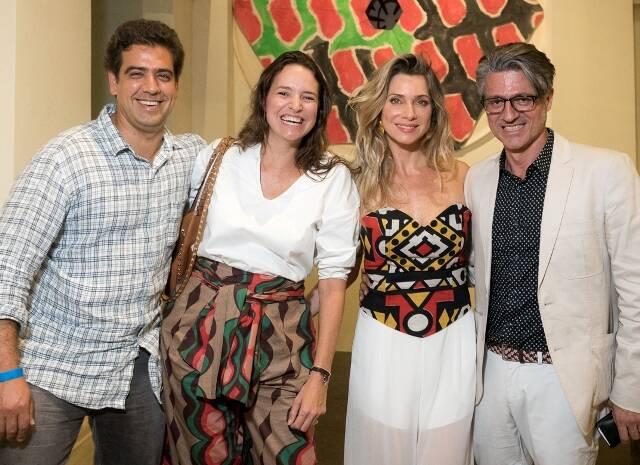 Arthur Borges, Brenda Valansi, Letícia Spiller e Nicholas Martin Ferreira