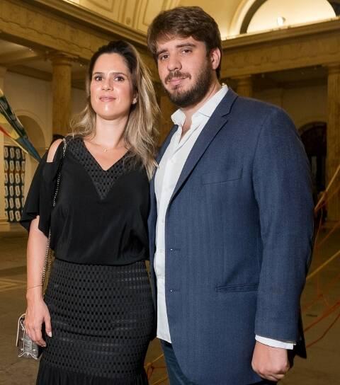 Lívia Miranda e Jacopo Amsellem