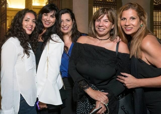 Hind Chaouat, Surama de Castro, Ana Torres, Auriette Middleton e Carla Daniel