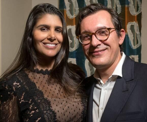 Maria Fernanda Braga e Brice Roquefeuil