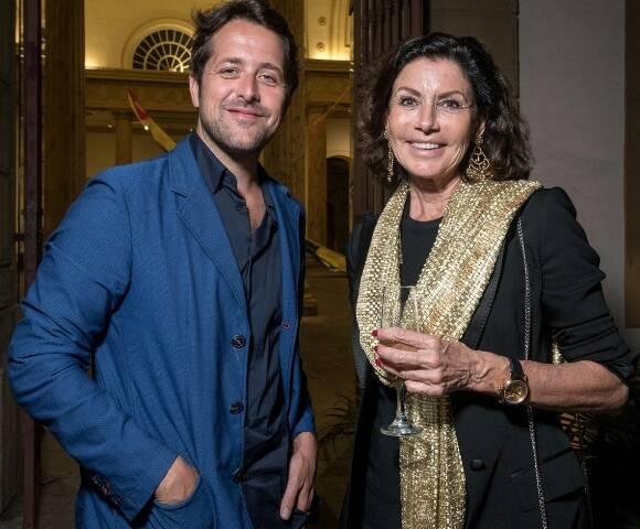 Loïc Bénéditière e Danielle Cazeau