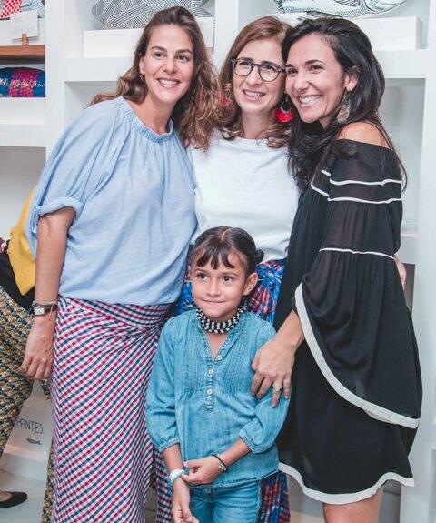 Ana Ceppas, Glória Marques, Kamila Barroso e Pipa Sales