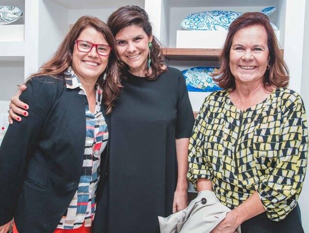 Ana Soter, Jéssica Góes e Xênia Góes