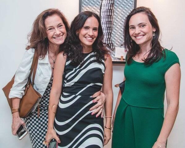 Cecília, Gisela e Mariana Pecego