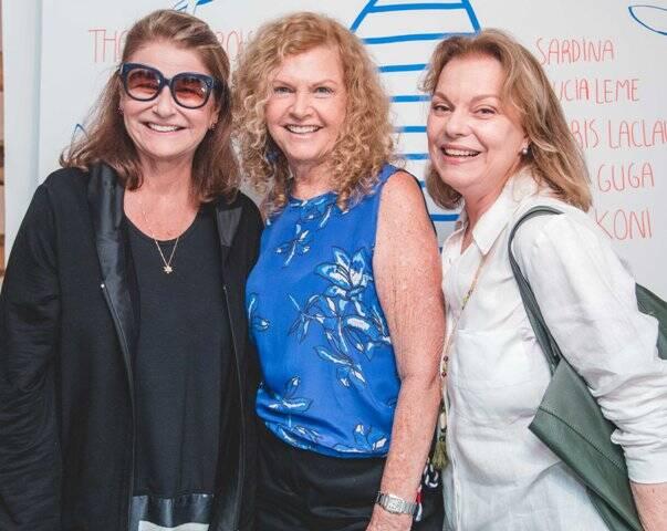 Ira Etz, Leia Klabin e Laura Burnier