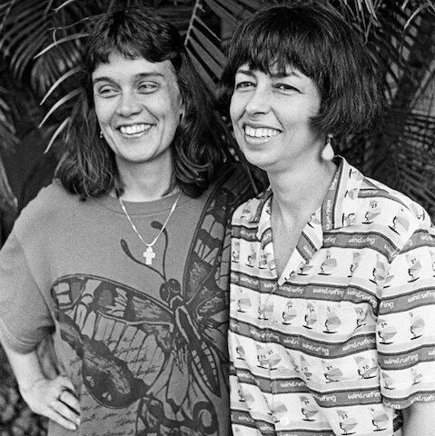 Joyce Moreno e Nara Leão, no Projeto Ricardo Vazem, no Chico ´s Bar, em janeiro de 1988