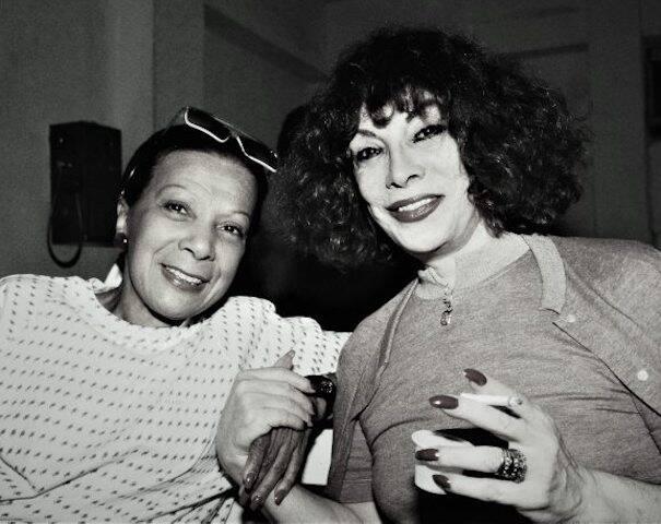 Elizeth Cardoso e Marlene durante a Gravação Gonzaguinha, na Gravadora Odeon, em outubro de 1989