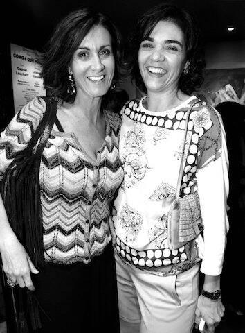 """Márcia Cabrita e Solange Badim na apresentação da peça """"Eu Era Tudo Para Ela e Ela Me Deixou"""", no Teatro dos Quatro, , em setembro de 2012"""