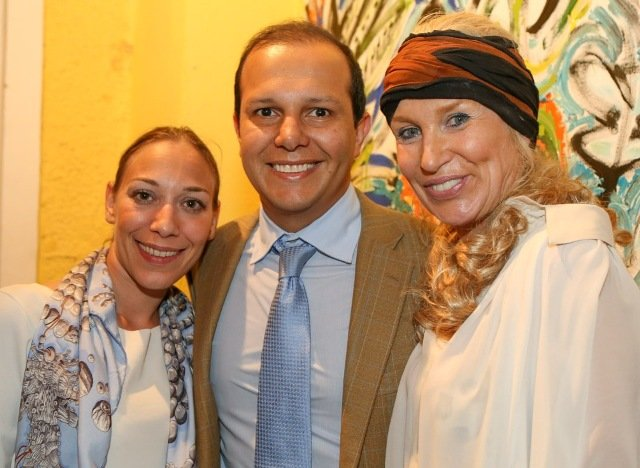 Arianna Sabatier, Rodrigo Mangaravite e Marie Annick Mercier