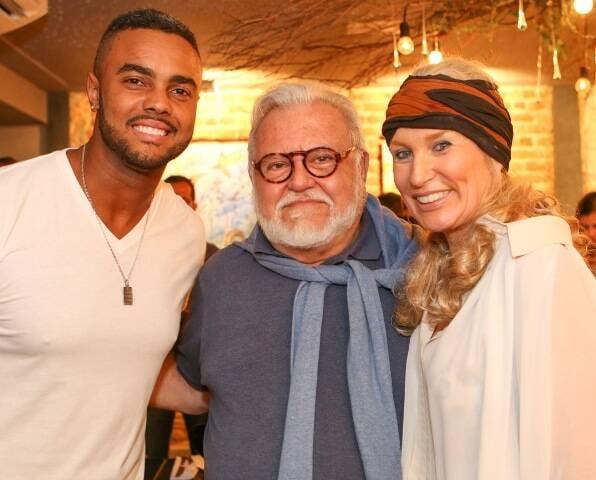 Jorge de Sá, Ricardo Amaral e Marie Annick Mercier