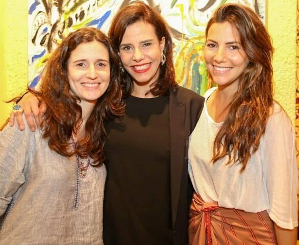 Marianna, Narcisa e Nicole Tamborindeguy