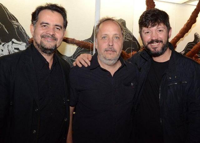 Aberto Saraiva, Jorge Barrão e Renato Morcatti