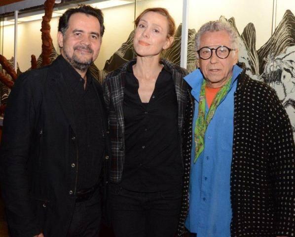 Alberto Saraiva, Patricia Niedermeier e Neville D'almeida
