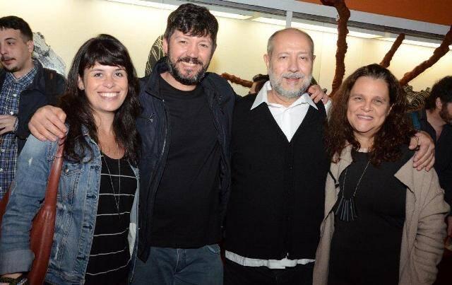 Fernanda Lopes, Renato Morcatti, Fernando Cocchiarale e Katia Maciel