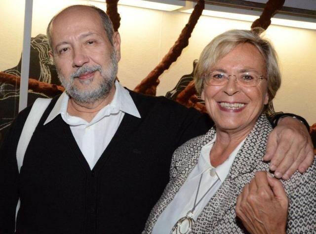 Fernando Cocchiarale e Paola Colacurcio