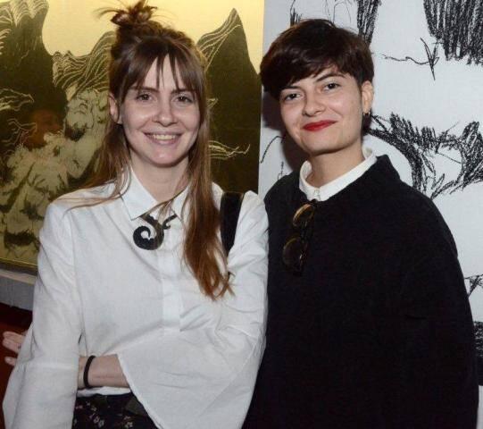 Lívia Vreuls e Joyce Grecio