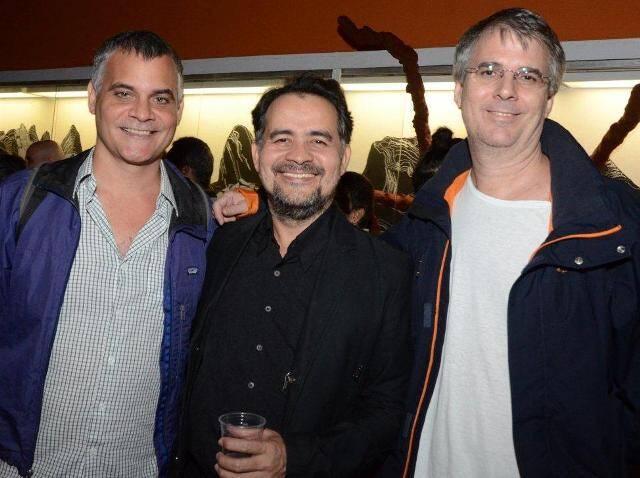 Ricardo Cotrim, Alberto Saraiva e André Sheik