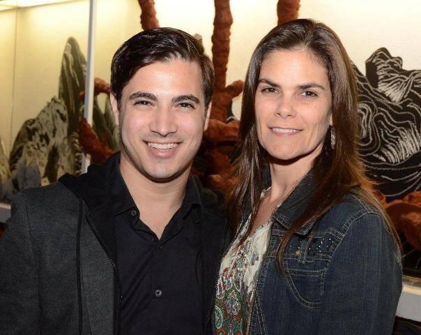 Rodrigo Andrade e Carol Grilo