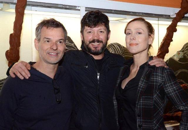 Vicente de Mello, Renato Morcatti e Patricia Niedermeier