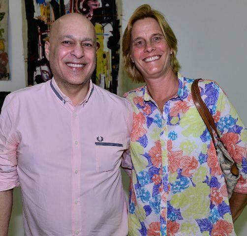 Luiz Xavier e Flavia Bertrand